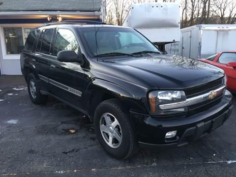 2002 Chevrolet TrailBlazer for sale at AMERI-CAR & TRUCK SALES INC in Haskell NJ