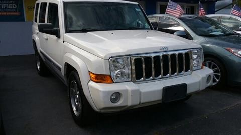 2010 Jeep Commander for sale at AMERI-CAR & TRUCK SALES INC in Haskell NJ