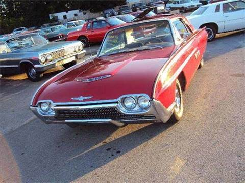 1963 Ford Thunderbird for sale at Marshall Motors Classics in Jackson Michigan MI