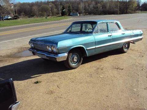 1963 Chevrolet 210 for sale at Marshall Motors Classics in Jackson Michigan MI