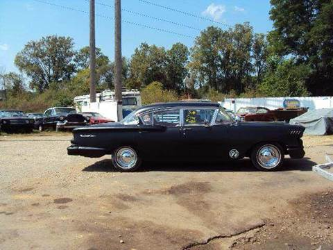 1958 Chevrolet Bel Air for sale at Marshall Motors Classics in Jackson Michigan MI