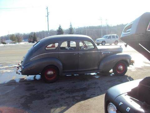 1939 Desoto CUSTOM for sale at Marshall Motors Classics in Jackson Michigan MI