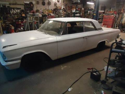 1963 Ford Galaxie for sale at Marshall Motors Classics in Jackson Michigan MI