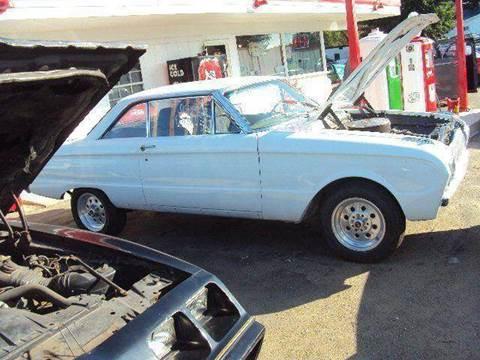 1963 Ford Falcon for sale at Marshall Motors Classics in Jackson MI