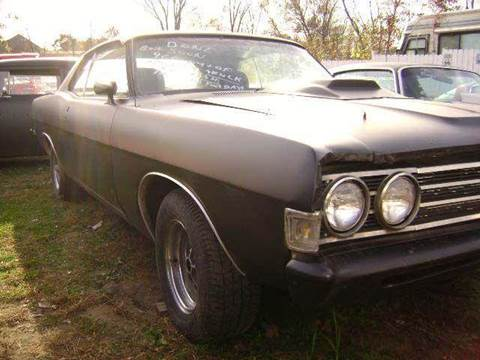 1969 Ford Fairlane for sale at Marshall Motors Classics in Jackson Michigan MI