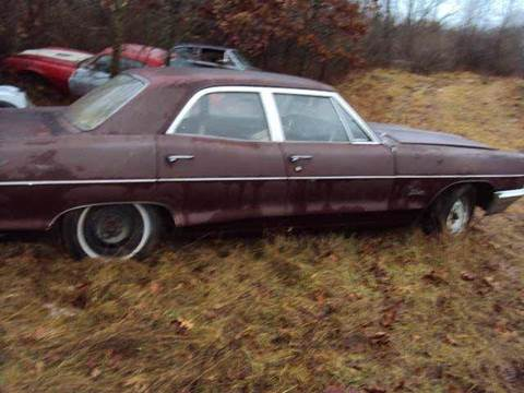 1965 Pontiac Catalina for sale at Marshall Motors Classics in Jackson Michigan MI