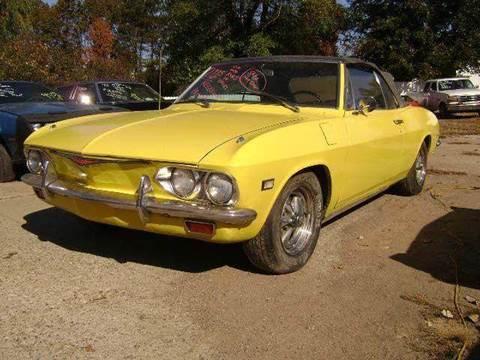 1965 Chevrolet Corvair for sale at Marshall Motors Classics in Jackson Michigan MI
