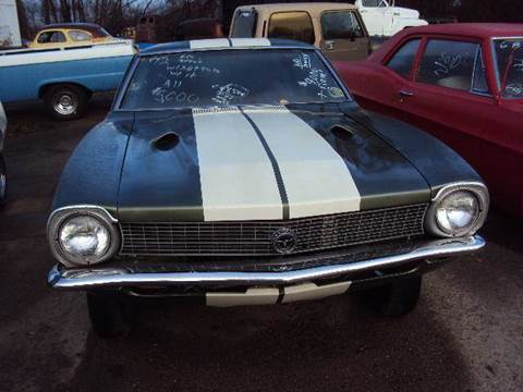 1971 Ford Maverick for sale at Marshall Motors Classics in Jackson Michigan MI