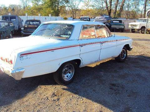 1962 Chevrolet Impala for sale at Marshall Motors Classics in Jackson Michigan MI