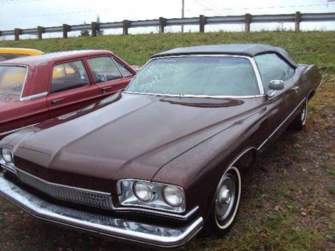 1973 Buick -convertible for sale at Marshall Motors Classics in Jackson Michigan MI