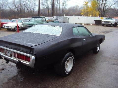 1974 Dodge Charger for sale at Marshall Motors Classics in Jackson Michigan MI