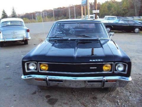 1969 AMC Rebel for sale at Marshall Motors Classics in Jackson MI