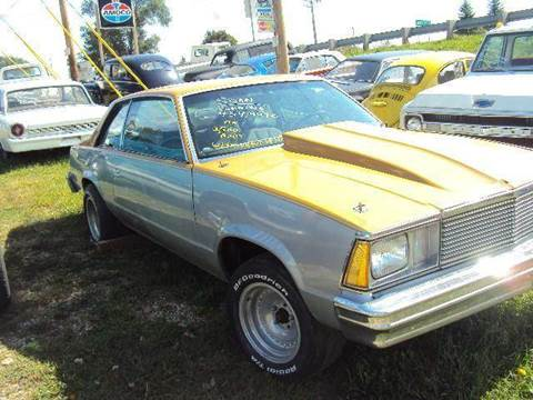 1978 Chevrolet 210 for sale at Marshall Motors Classics in Jackson Michigan MI