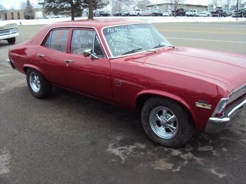 1970 Chevrolet Nova for sale at Marshall Motors Classics in Jackson Michigan MI
