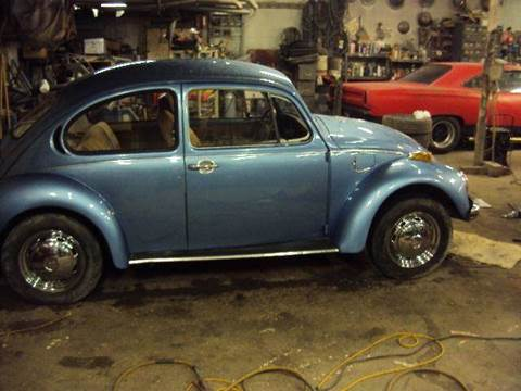 1973 Volkswagen Beetle for sale at Marshall Motors Classics in Jackson Michigan MI