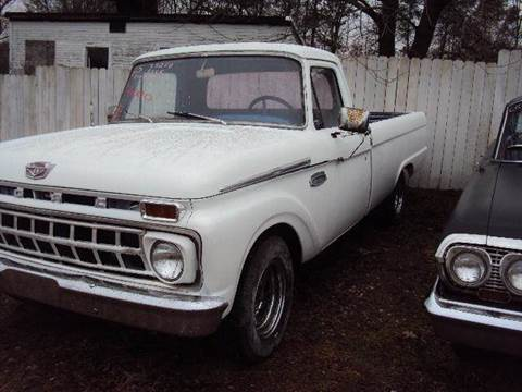 1965 Ford E-100 for sale at Marshall Motors Classics in Jackson Michigan MI