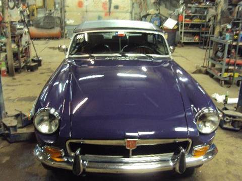 1974 MG mgb convertable for sale at Marshall Motors Classics in Jackson Michigan MI