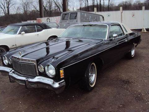 1977 Chrysler Cordoba for sale at Marshall Motors Classics in Jackson Michigan MI