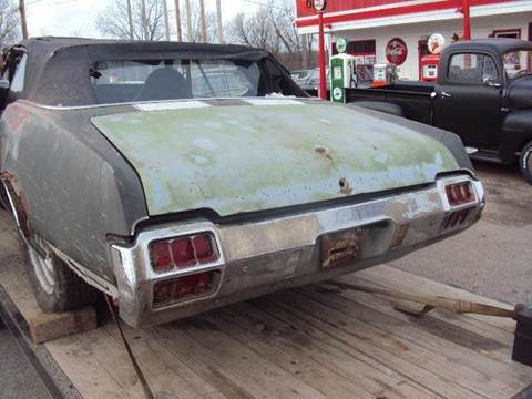 1972 Oldsmobile Cutlass Supreme for sale at Marshall Motors Classics in Jackson Michigan MI