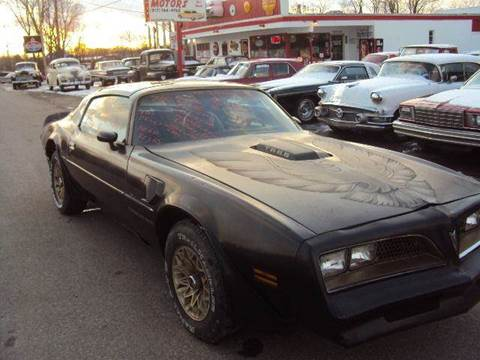 1977 Pontiac Firebird for sale at Marshall Motors Classics in Jackson Michigan MI