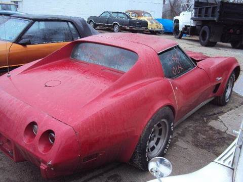 1974 Chevrolet Corvette for sale at Marshall Motors Classics in Jackson Michigan MI