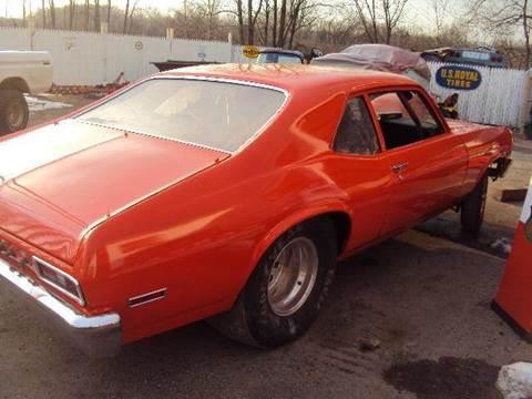 1972 Chevrolet Nova for sale at Marshall Motors Classics in Jackson Michigan MI