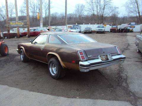 1977 Oldsmobile Cutlass for sale at Marshall Motors Classics in Jackson Michigan MI