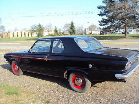 1965 Dodge Dart for sale at Marshall Motors Classics in Jackson Michigan MI