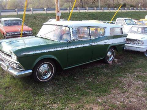 1959 AMC wagon  for sale at Marshall Motors Classics in Jackson Michigan MI