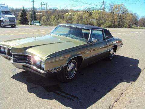 1971 Ford Thunderbird for sale at Marshall Motors Classics in Jackson MI