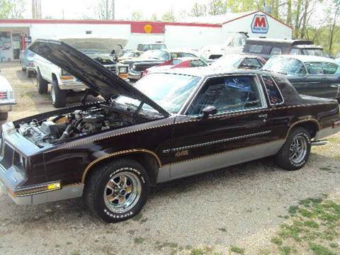 1986 Oldsmobile Cutlass for sale at Marshall Motors Classics in Jackson Michigan MI