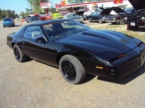 1987 Pontiac Trans Am for sale at Marshall Motors Classics in Jackson MI