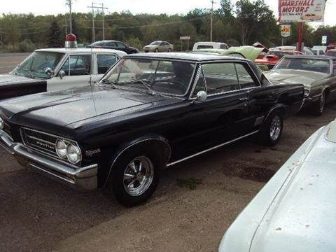 1964 Pontiac Le Mans for sale at Marshall Motors Classics in Jackson Michigan MI