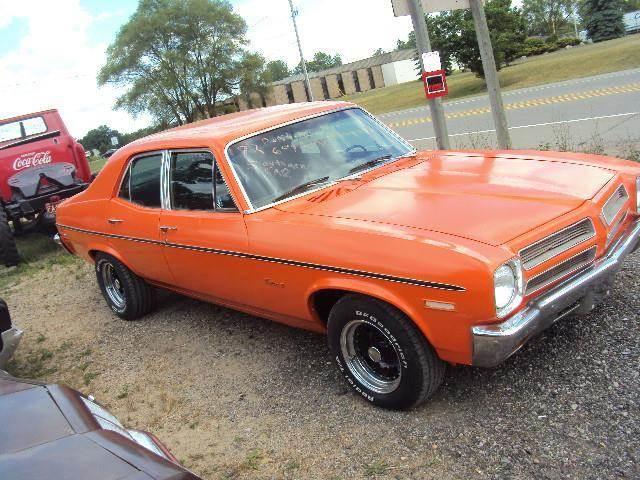 1972 Pontiac Ventura for sale at Marshall Motors Classics in Jackson MI