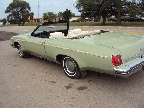 1975 Oldsmobile Delta Eighty-Eight for sale at Marshall Motors Classics in Jackson Michigan MI