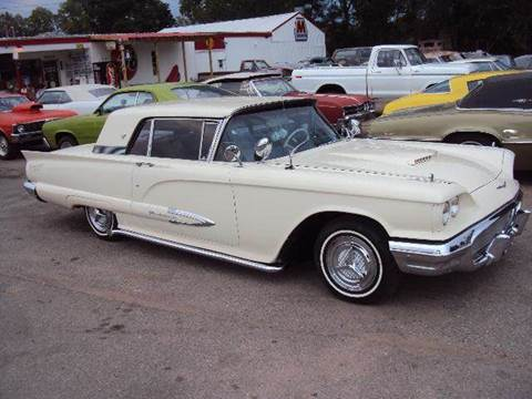 1959 Ford Thunderbird for sale at Marshall Motors Classics in Jackson Michigan MI