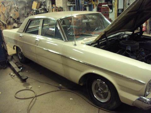 1965 Ford Galaxie for sale at Marshall Motors Classics in Jackson Michigan MI