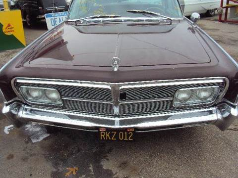 1965 Chrysler impereal for sale at Marshall Motors Classics in Jackson Michigan MI
