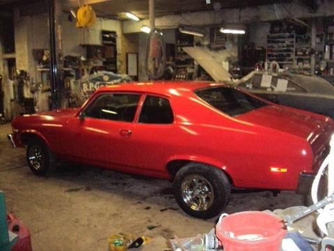 1974 Chevrolet Nova for sale at Marshall Motors Classics in Jackson Michigan MI