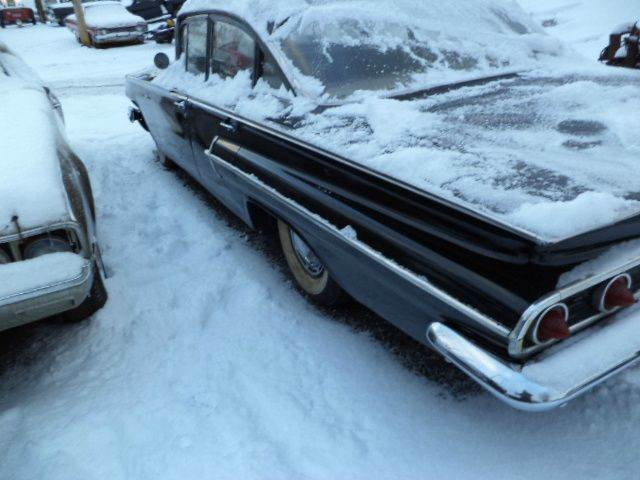 1960 Chevrolet Bel Air for sale at Marshall Motors Classics in Jackson MI