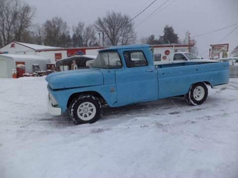 1963 Chevrolet Black Diamond Avalanche for sale at Marshall Motors Classics in Jackson Michigan MI