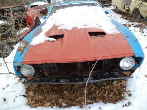 1971 2 fords mach ones for sale at Marshall Motors Classics in Jackson MI