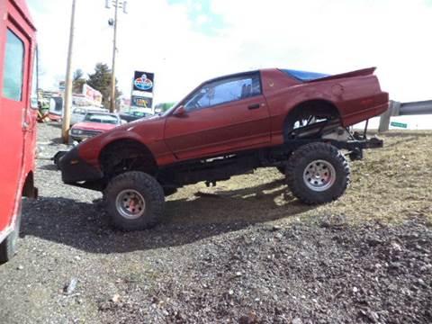 1989 Pontiac Trans Am for sale at Marshall Motors Classics in Jackson MI