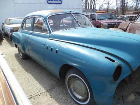 1949 Buick Roadmaster for sale at Marshall Motors Classics in Jackson Michigan MI