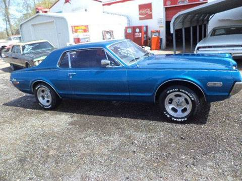 1968 Mercury couger  for sale at Marshall Motors Classics in Jackson Michigan MI