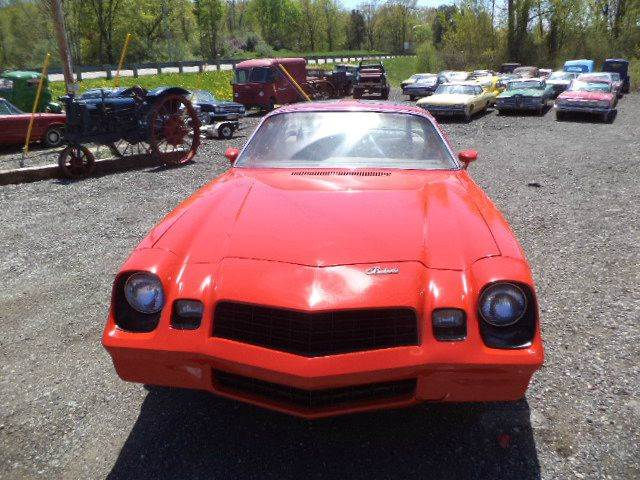 1980 Chevrolet Camaro for sale at Marshall Motors Classics in Jackson Michigan MI