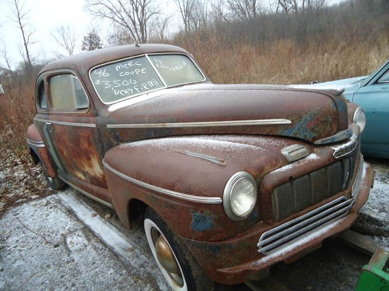 1946 Mercury COUPE for sale at Marshall Motors Classics in Jackson Michigan MI