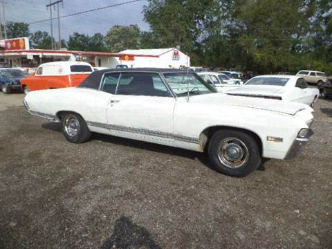 1968 Chevrolet Caprice for sale at Marshall Motors Classics in Jackson Michigan MI