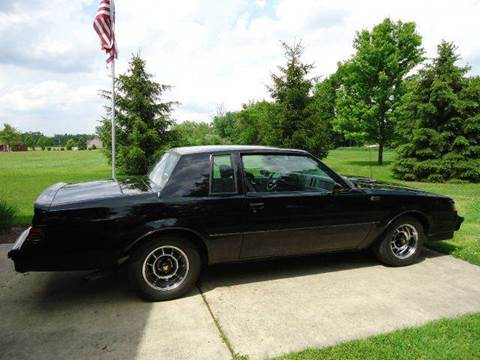 1986 Buick Regal for sale at Marshall Motors Classics in Jackson Michigan MI