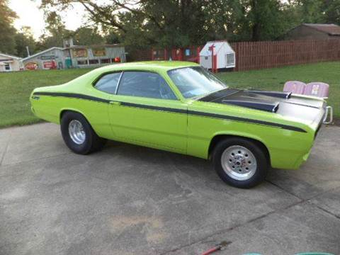 1970 Plymouth Duster for sale at Marshall Motors Classics in Jackson Michigan MI